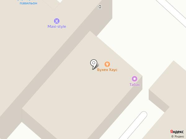 Банька на карте Улан-Удэ