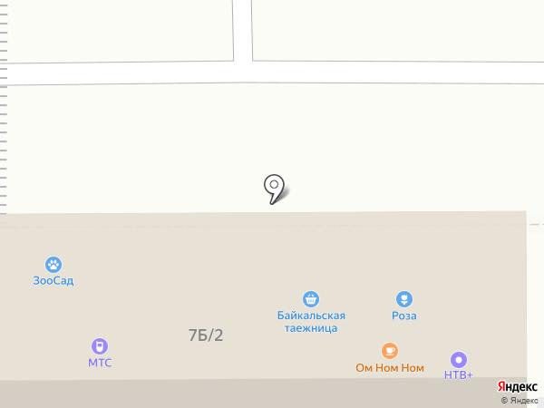 Юрта на карте Улан-Удэ