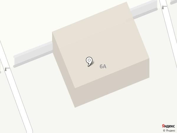 Автостоянка на Ключевской на карте Улан-Удэ