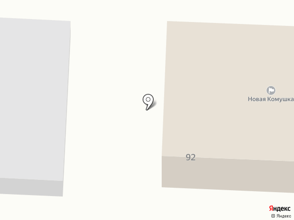 Участковый пункт полиции на карте Улан-Удэ
