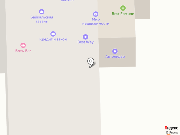 Евроокна-ПВХ на карте Улан-Удэ