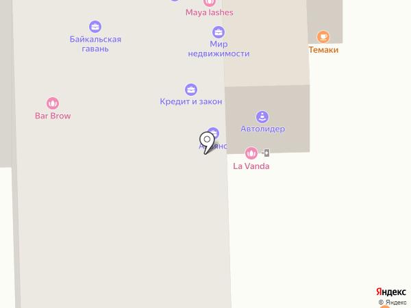 Автоюрист на карте Улан-Удэ