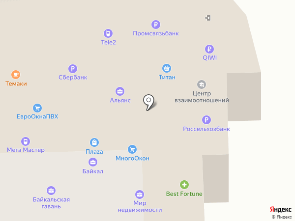 TELENET на карте Улан-Удэ