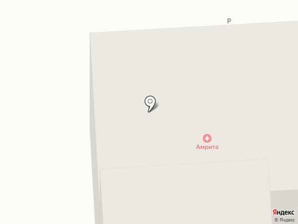 Амрита на карте Улан-Удэ