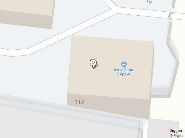 Азия-Лада-Сервис на карте Улан-Удэ