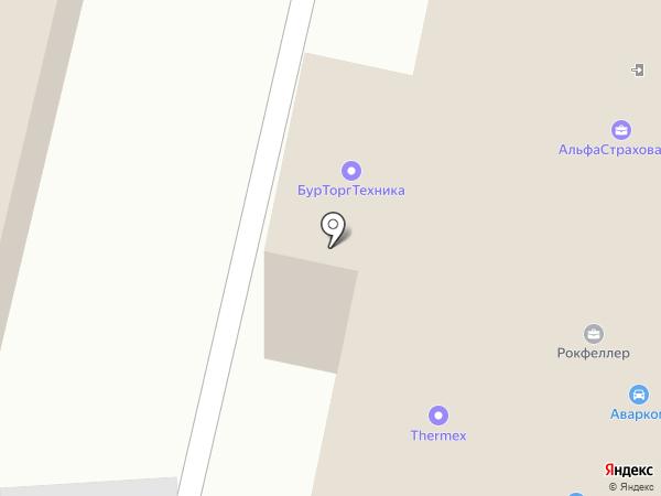 Аварком на карте Улан-Удэ