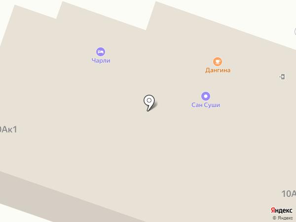 Чарли на карте Улан-Удэ