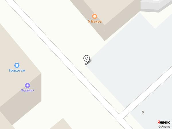 У Баира на карте Улан-Удэ