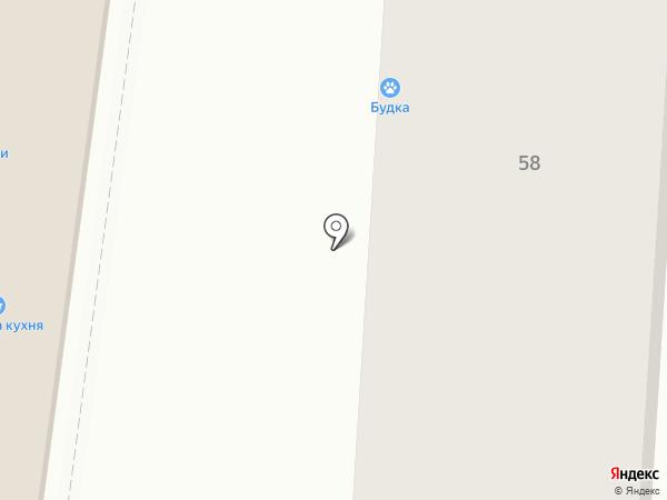 Будка на карте Улан-Удэ