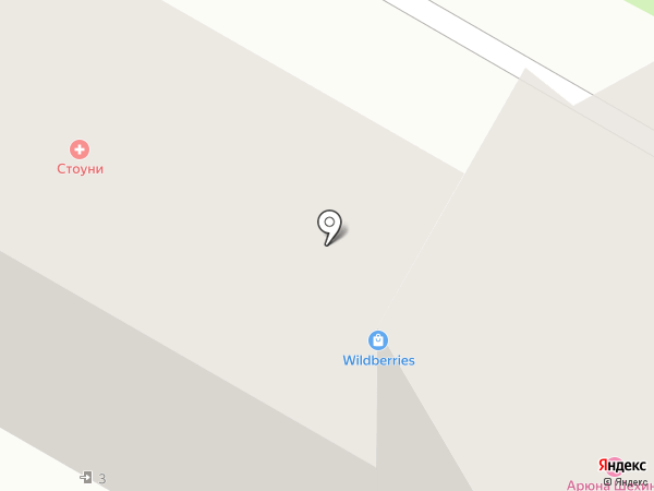 Стоуни на карте Улан-Удэ
