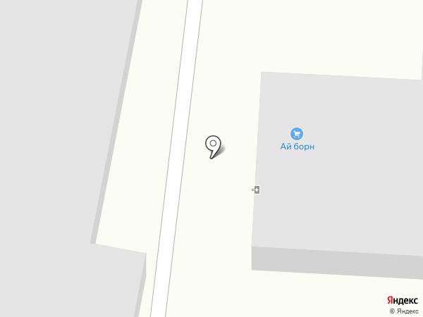 Ай Борн на карте Улан-Удэ