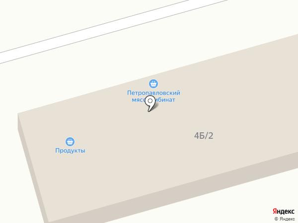 Магазин фруктов и овощей на карте Улан-Удэ