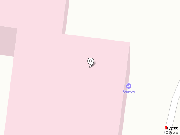 Орион на карте Улан-Удэ