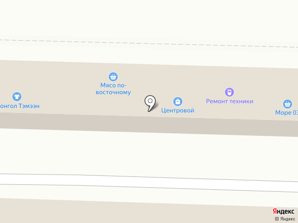 Дядя Денер №1 на карте Улан-Удэ