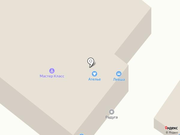 Кружево на карте Улан-Удэ