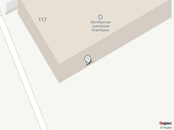 Азимут-авто на карте Улан-Удэ