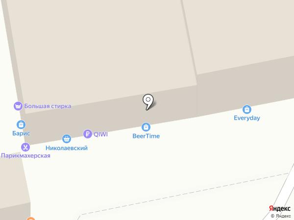 Куб на карте Улан-Удэ