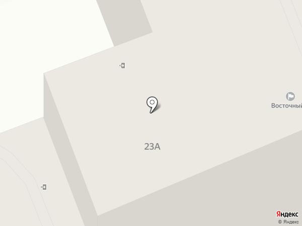 Восточный, ТСЖ на карте Улан-Удэ