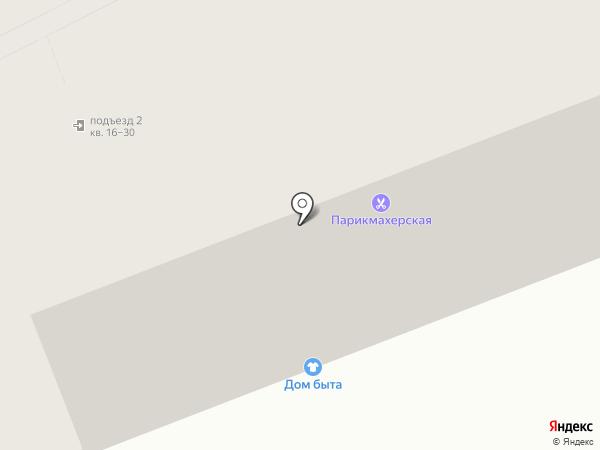 Парикмахерская на Восточном на карте Улан-Удэ