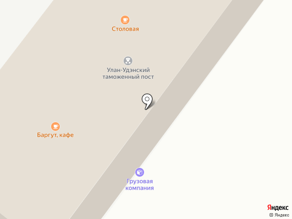 Алтансэсэг на карте Улан-Удэ