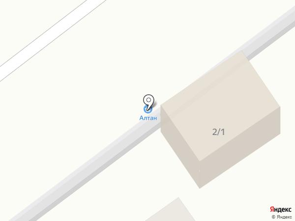 Алтан на карте Эрхирика