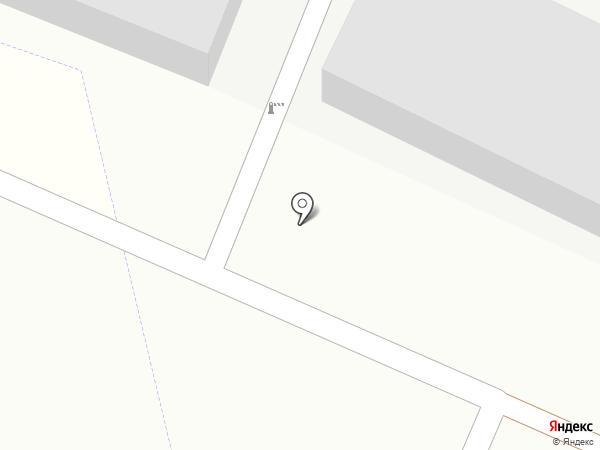 Гаражный кооператив №59 на карте Читы