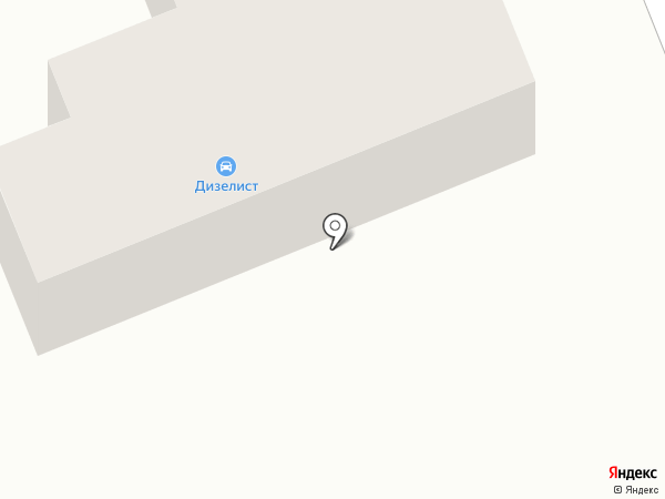 Дизелист на карте Засопки