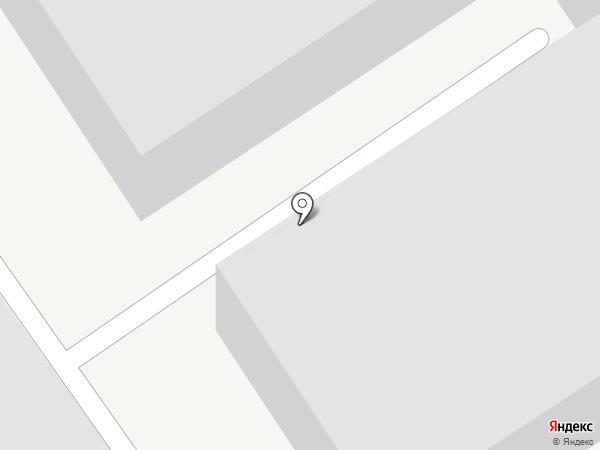 Гаражный кооператив №54 на карте Читы