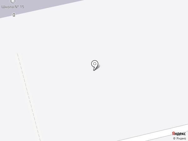 Средняя общеобразовательная школа №15 на карте Читы