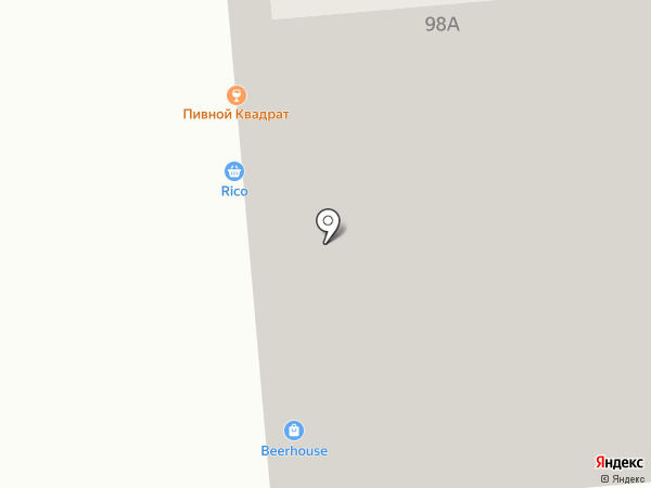 Rico на карте Читы