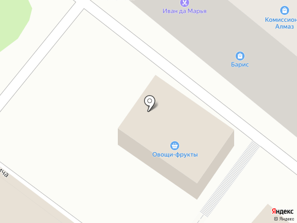 Почтовое отделение №6 на карте Читы