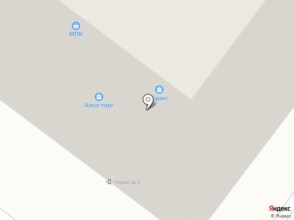 БАРИС на карте Читы