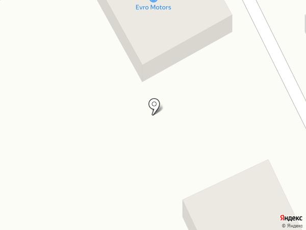 Evro Motors на карте Читы