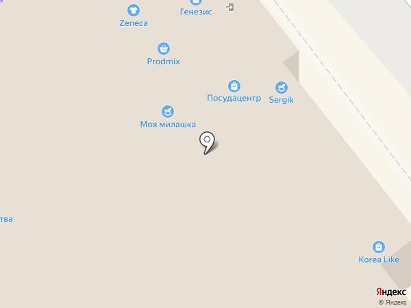 Генезис на карте Читы