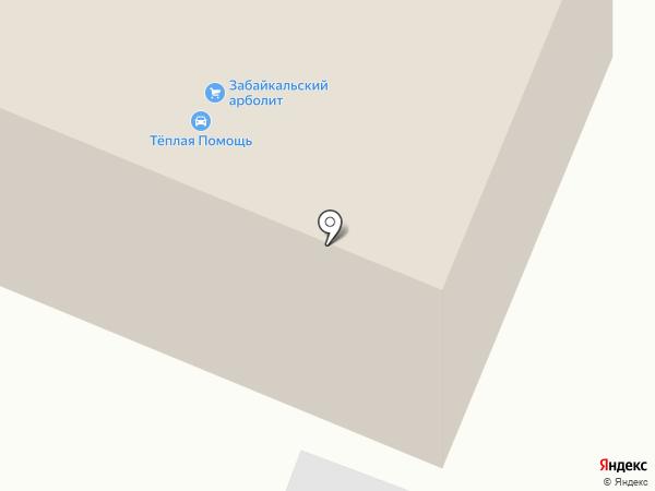 333 на карте Читы