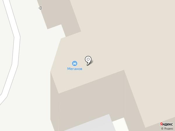 Меганов на карте Читы