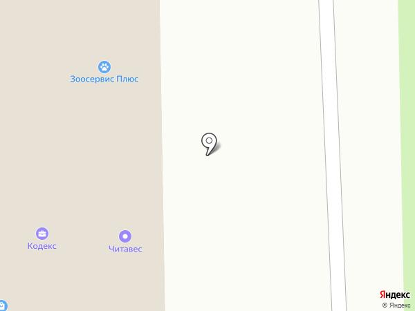 PROFI на карте Читы