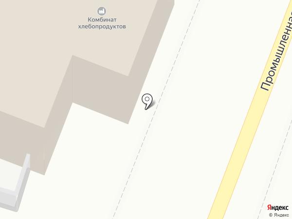 Комбинат хлебопродуктов на карте Читы