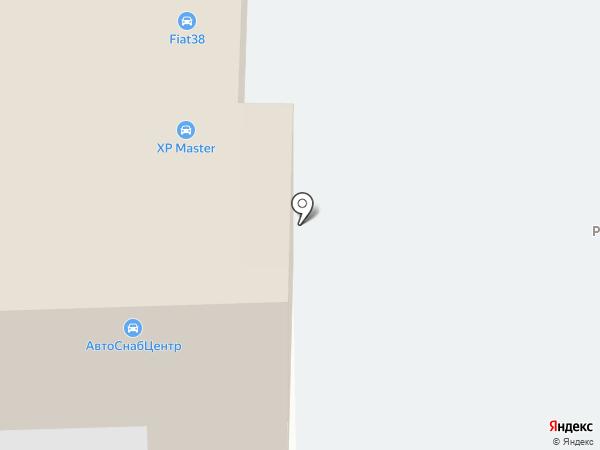 АвтоСнабЦентр на карте Читы