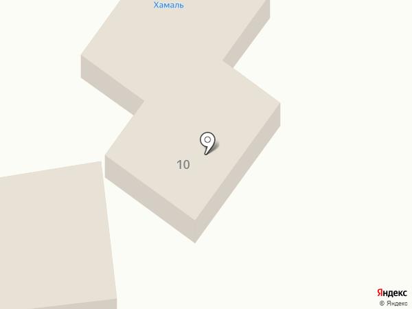 Хамаль на карте Читы