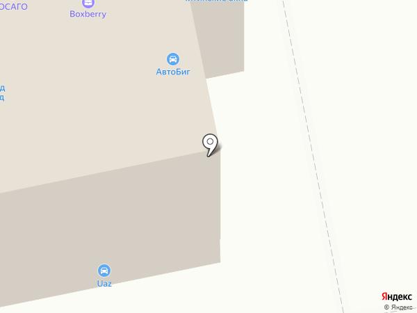 Авто Респект на карте Читы