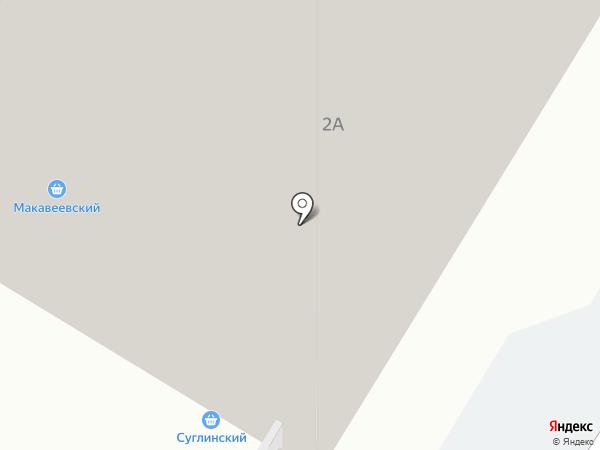 Суглинка на карте Читы
