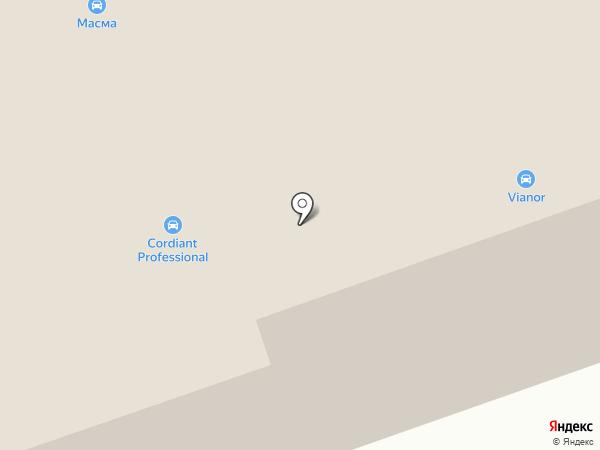 Автостиль на карте Читы
