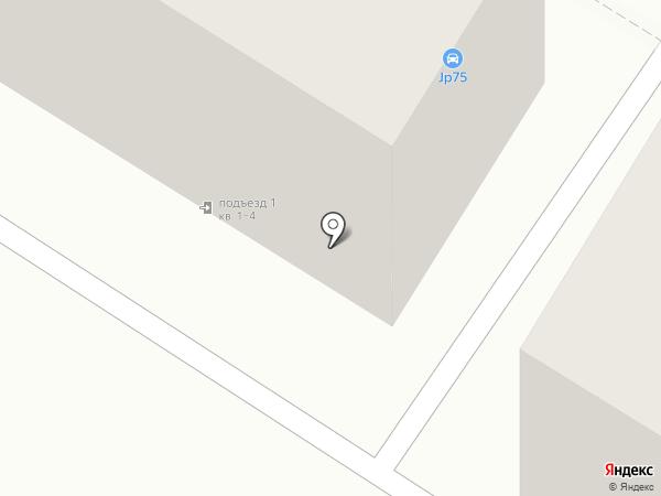 Япончик на карте Читы