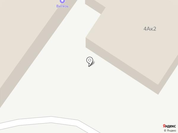 Витязь, ЧОУ ДПО на карте Читы