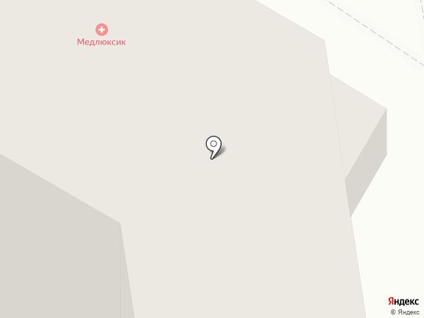 Читинка на карте Читы