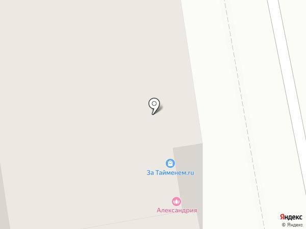 Юничел на карте Читы
