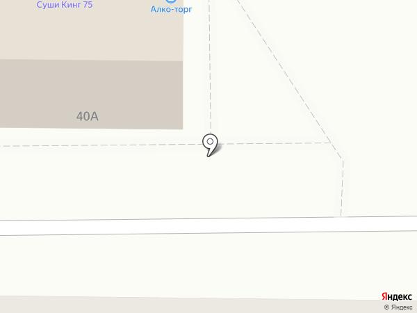 Вектор на карте Читы