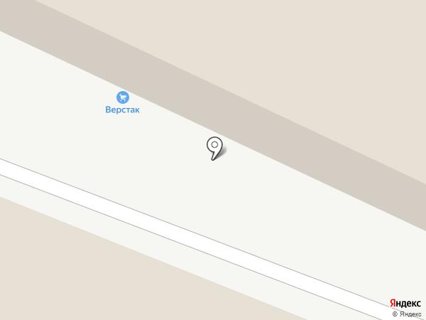 Верстак на карте Читы