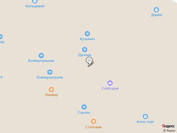 Строительные системы на карте Читы